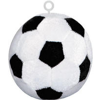 Soccer Plush Balloon Weight 4.4oz