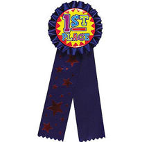 Jumbo 1st Place Award Ribbon