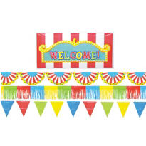 Carnival Outdoor Party Giant Decorating Kit 5pc