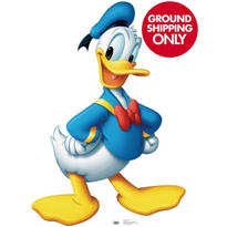 Donald Duck Life Size Cardboard Cutout 42in