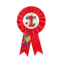 I am 1 Birthday Award Ribbon
