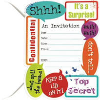 Surprise Party Invitations 20ct
