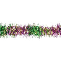 Mardi Gras Twist Foil Garland 9ft