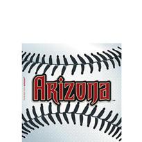 Arizona Diamondbacks Beverage Napkins 36ct