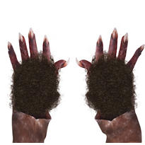 Werewolf Fur Hand Patch