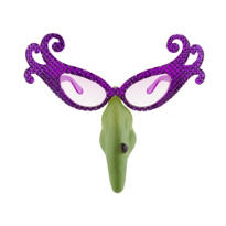 Hilda Crackler Witch Glasses with Nose