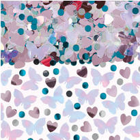 Blushing Bride Metallic Confetti 2 1/2oz