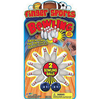 Finger Bowling Game