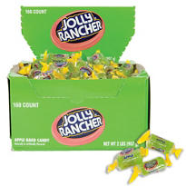 Apple Jolly Rancher Twists 160ct