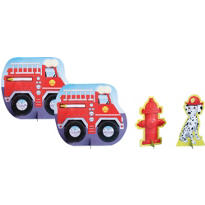 Firefighter Centerpiece 4pc
