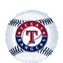 Texas Rangers Foil Balloon 18in
