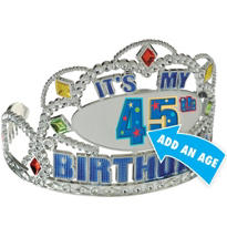 A Year To Celebrate Custom Tiara