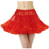 Adult Red Tulle Petticoat