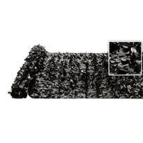 Black Vinyl Floral Sheeting