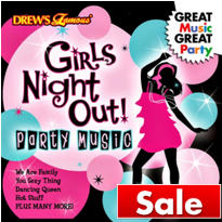 Girl's Night Out Party Music CD