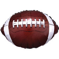 Foil Football Balloon 18in