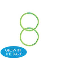 Green Glow Bracelets 8in 2ct