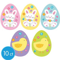 Easter Cutouts 3 3/4in 10ct