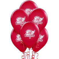 Tampa Bay Buccaneers Latex Balloons 6ct