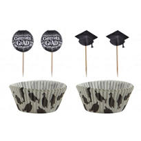 Graduation Cupcake Combo Pack for 24