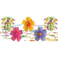 Hibiscus Ultimate Table Decorating Kit 88pc