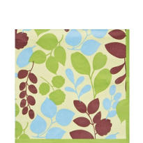 Green Julie Lunch Napkins 20ct