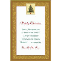 Victorian Tree Custom Invitation