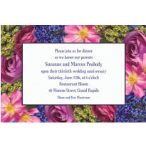 Garden Bouquet Custom Invitation