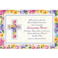 Custom Joyful Blessing Invitations
