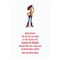 Woody Custom Invitation