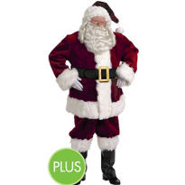 Adult Majestic Santa Suit Plus Size