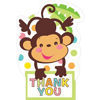 Fisher Price Baby Shower Thank You Notes 8ct