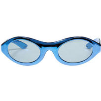 Blue Metallic Glasses
