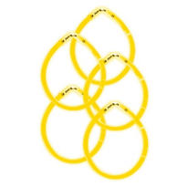 Yellow Glow Bracelets 8in 5ct