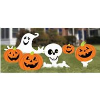 Halloween Yard Signs 5ct