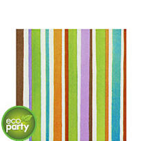 Crafty Stripe Lunch Napkins 16ct