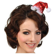 Clip-on Mini Santa Hat