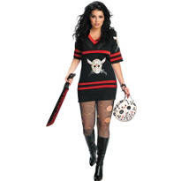 Adult Miss Jason V. Costume Plus Size - Friday the 13th