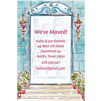 Home Front Door Custom Housewarming Invitation
