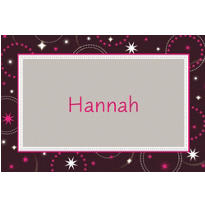 Custom Sparkle Sweet 16 Birthday Thank You Notes