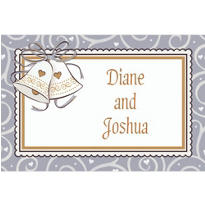 Platinum Proposal Custom Bridal Shower Thank You Note