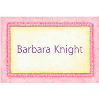 Pink Frills Custom Baby Shower Thank You Note