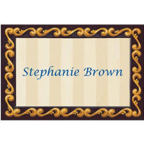 Blue Grad Portrait Custom Thank You Notes