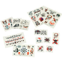 Skull Nation Temporary Tattoos