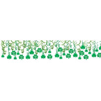 St. Patricks Day Swirl Decorations 30ct