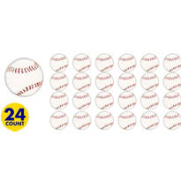 Baseball Bounce Balls 24ct