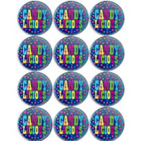 Candy Button 12ct