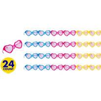 Hello Kitty Glitter Heart Sunglasses 24ct