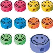 Smile Pencil Sharpeners 48ct