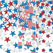 Patriotic Confetti 1 1/8oz
